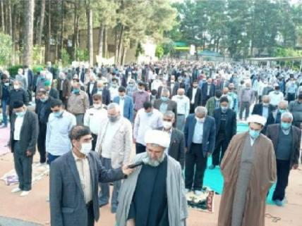 گلستان ما - اقامه نماز عید فطر در مینودشت+ تصاویر