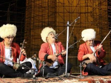 گلستان ما - همایش ادبی شاعر شهیر مختوم قلی فراغی+ تصاویر