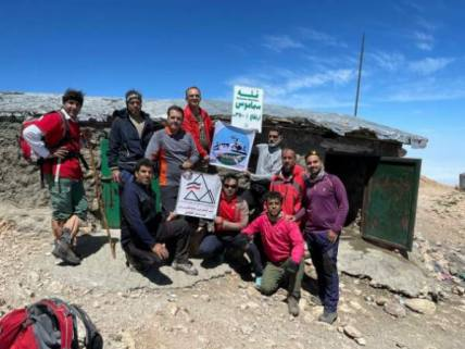 گلستان ما - صعود کوهنوردان گالیکش به قله سماموس+ تصاویر